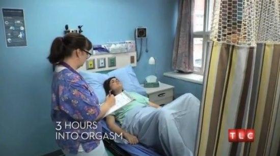 Mulher vai parar na emerg麩cia do hospital ap 3 horas seguidas de orgasmos