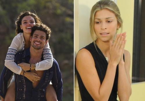 Grazi Massafera chora ao ver Cauã Reymond agarrado a Isis Valverde na televisão, diz jornal