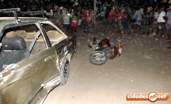 M俍ico morre em acidente com carro e duas motos no PI