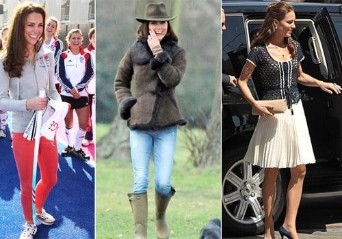 Veja os looks de Kate Middleton, que completa 32 anos nesta quinta-feira, 9