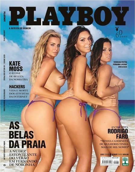 Veridiana Freitas fala de ensaio nu para a ?Playboy? de janeiro: ?Quero que esqueçam que sou ex-affair de Gusttavo Lima?