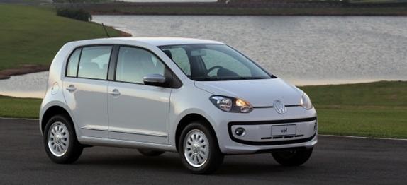 Volkswagen Up! é flagrado na Grande São Paulo