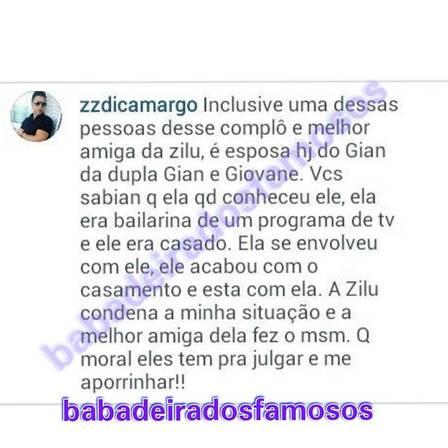 Zezé Di Camargo critica mulher de Gian e cantor sofre AVC e é internado em SP - Imagem 1
