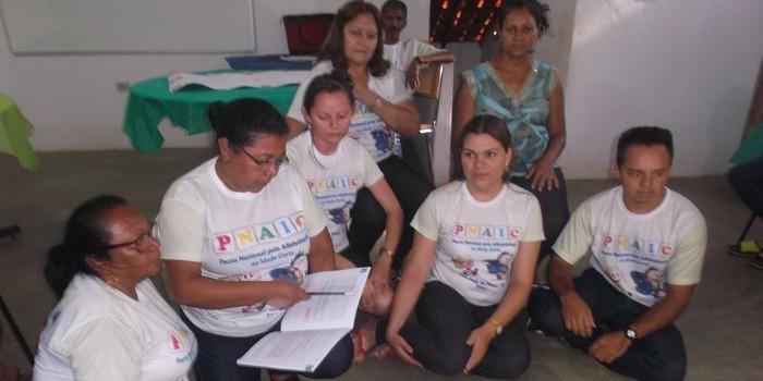 Alfabetizadores de São José do Piauí participam de Formação do PNAIC