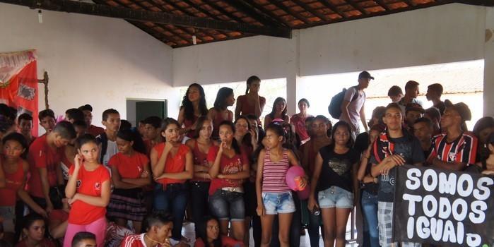 Escola Hugo Napoleão promove I Gincana Cultura em Monte Alegre do Piauí.