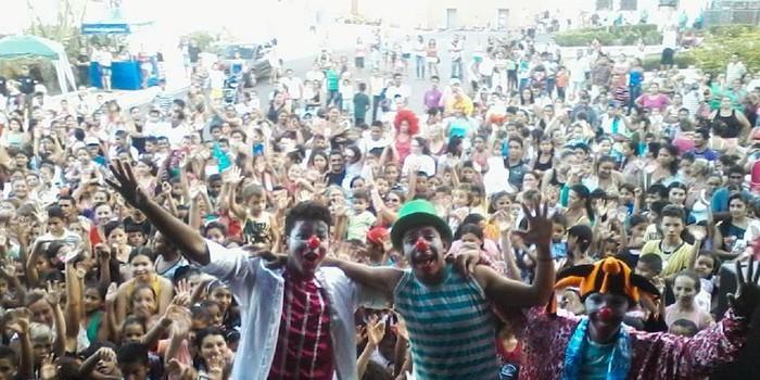 Multidão lota complexo da Matriz para prestigiar Festa do Dia das Crianças
