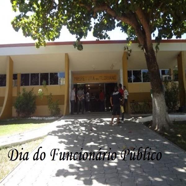 Prefeitura de Floriano antecipa feriado para próxima segunda-feira, 27