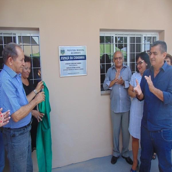 Prefeitura inaugurou o Espaço da Cidadania