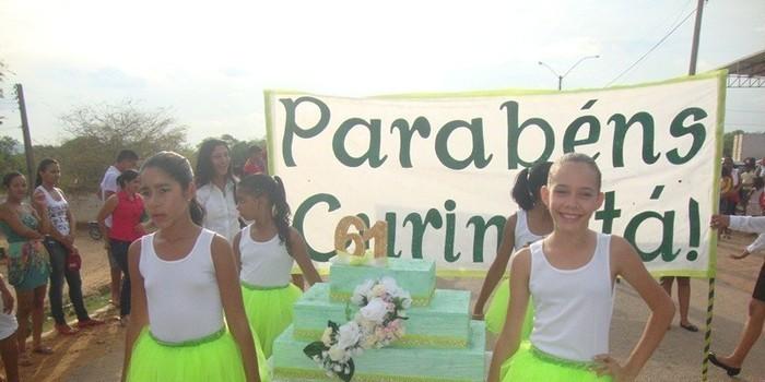 Curimatá comemora 61 anos de história e população presenteada com um grande Show e Desfile Cívico