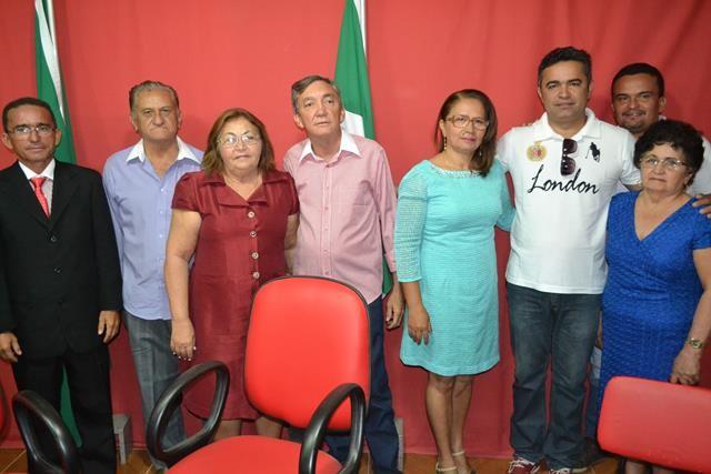 Vice-prefeita Lucia Lacerda assumi a prefeitura de Pimenteiras - Imagem 32