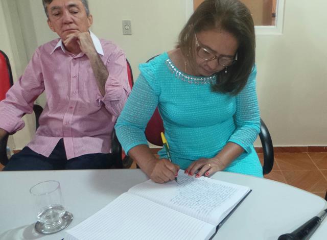 Vice-prefeita Lucia Lacerda assumi a prefeitura de Pimenteiras - Imagem 15