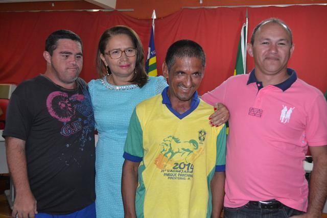 Vice-prefeita Lucia Lacerda assumi a prefeitura de Pimenteiras - Imagem 51