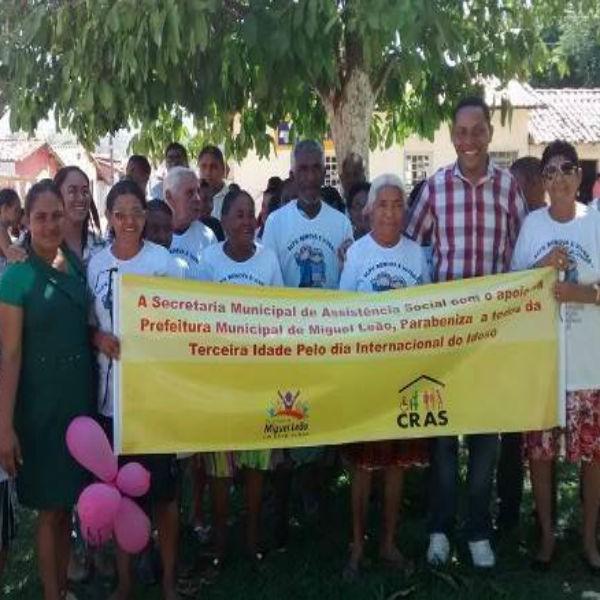 Prefeitura realiza atividades para comemorar Dia do Idoso