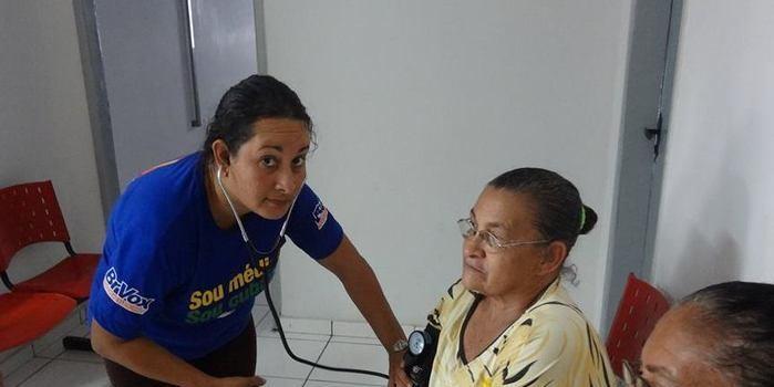 Saúde investe na prevenção de doenças , acompanhamento do diabético e hipertensos em Canavieira
