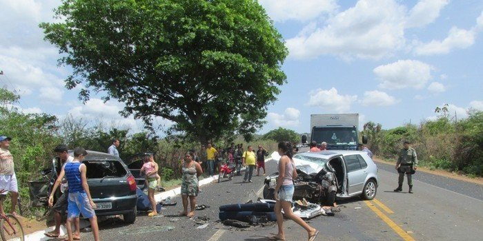 Grave acidente na BR 343 próximo a estaca Zero deixa Mãe e Filha morta