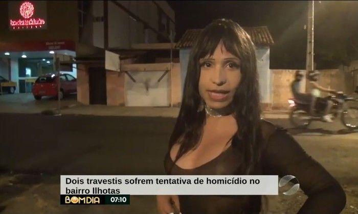 Travestis sofrem tentativa de homicídio no bairro Ilhotas