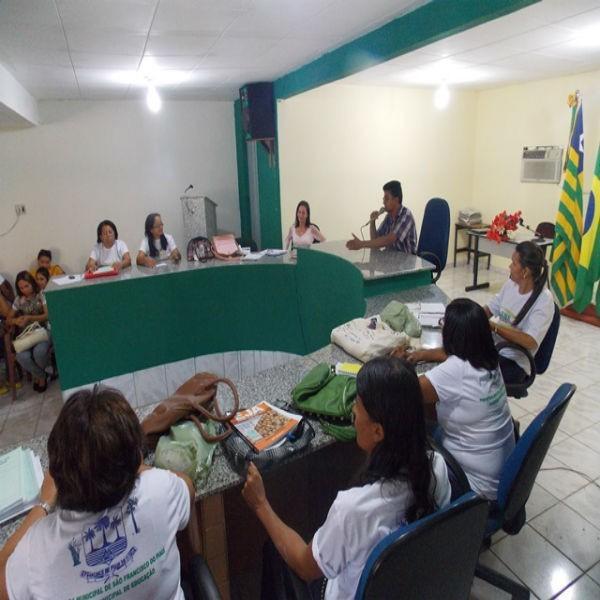 Prefeitura de São Francisco do Piauí realiza nesta manhã a capacitação do Programa Brasil Alfabetizado