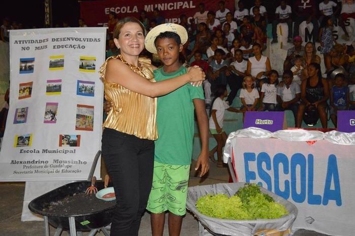 Prefeitura Municipal de Guadalupe através da Secretaria de Educação realizaram a Noite Cultural do Programa Mais Educação - Imagem 7