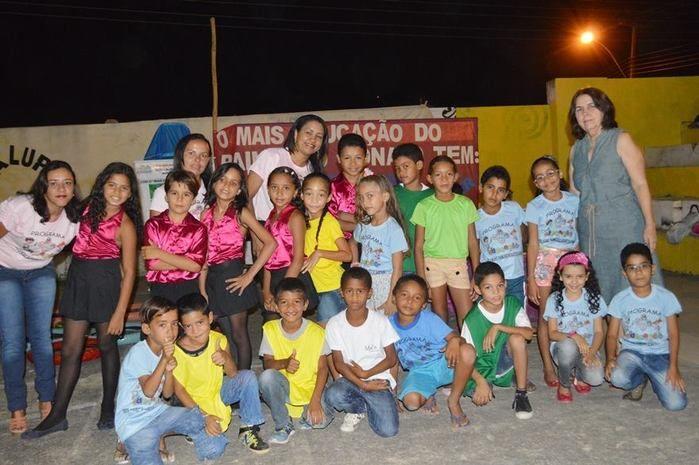 Prefeitura Municipal de Guadalupe através da Secretaria de Educação realizaram a Noite Cultural do Programa Mais Educação - Imagem 2