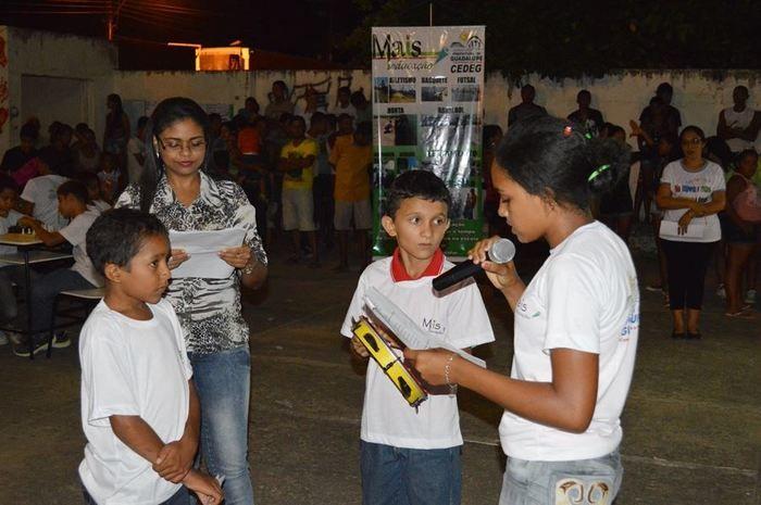 Prefeitura Municipal de Guadalupe através da Secretaria de Educação realizaram a Noite Cultural do Programa Mais Educação - Imagem 13