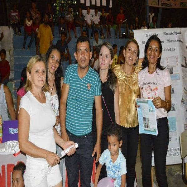 Prefeitura Municipal de Guadalupe através da Secretaria de Educação realizaram a Noite Cultural do Programa Mais Educação