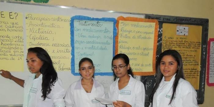 Escolas em Curralinhos realizou uma culminância de ações do PROEMI e Pacto Nacional pelo fortalecimento do Ensino Médio