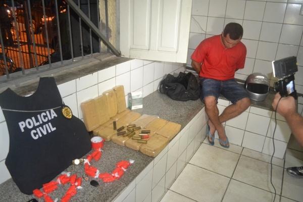 Polícia diz que acusado de tráfico tem envolvimento com roubo ao Bradesco