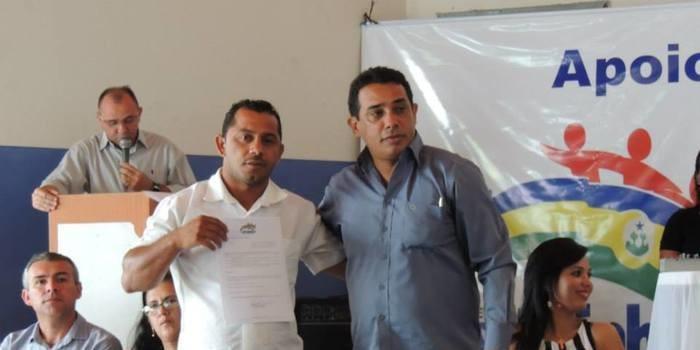 Posse dos novos secretario municipais de Curralinhos.