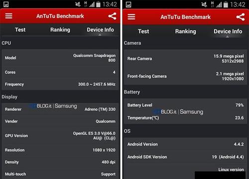 Samsung Galaxy S5 terá  duas versões, segundo teste vazado na Internet