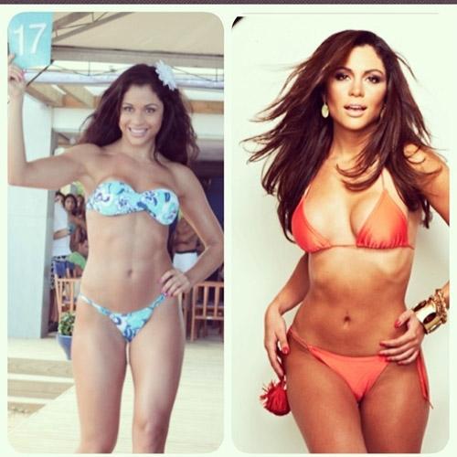 Com foto de antes e depois, Maria Melilo faz desabafo de visual musculoso