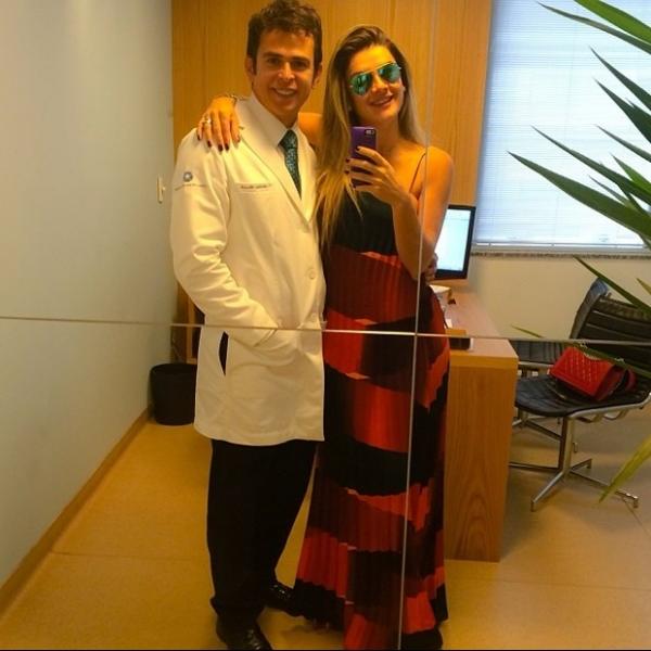 Mirella Santos anuncia gravidez: