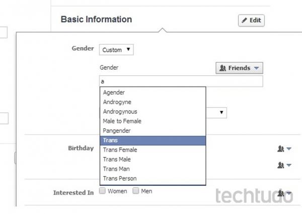 Facebook muda perfil e aceita novos g麩eros, al駑 do masculino e feminino