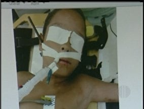 Menino perfurado por vergalhão fala pela primeira vez após cirurgia
