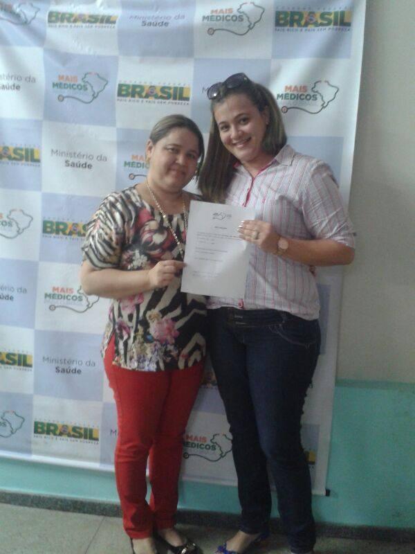 O Programa Mais Médico chega a Novo Santo Antônio.