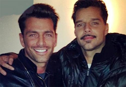 Modelo mexicano é apontado como novo affair de Ricky Martin