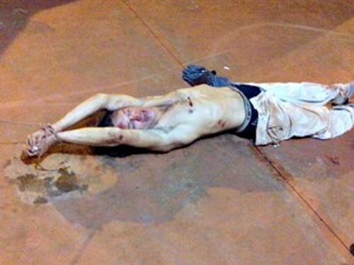 Suspeito é amarrado e agredido durante tentativa de roubo