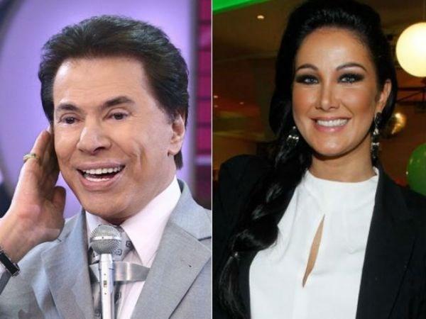 Silvio Santos dá nova cantada em Helen Ganzarolli: