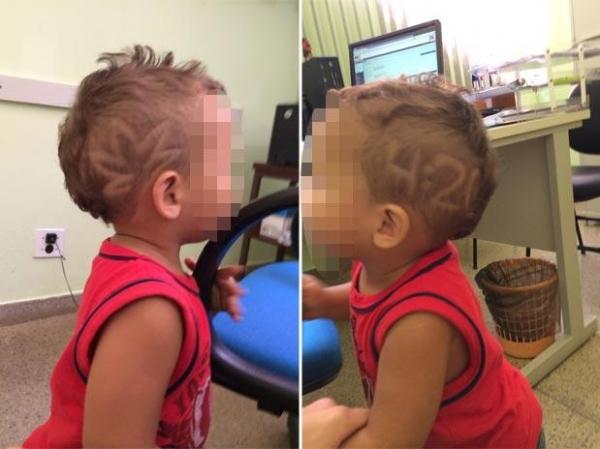 MG: mulher é presa após desenhar símbolo de maconha em cabelo de bebê