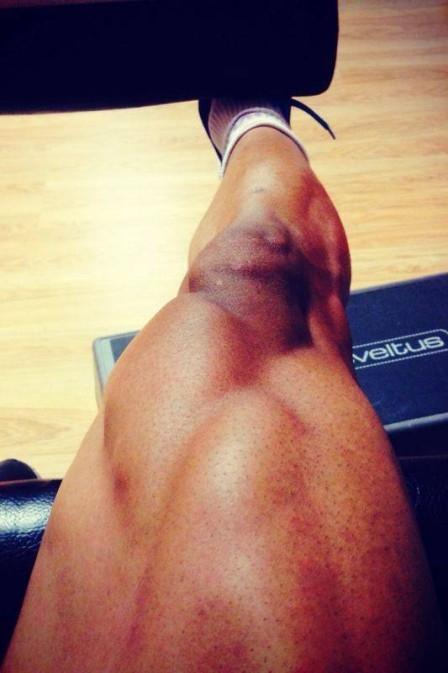 Novo homem-coxa? Venezuelano publica foto durante treino no Valladolid e chama a atenção