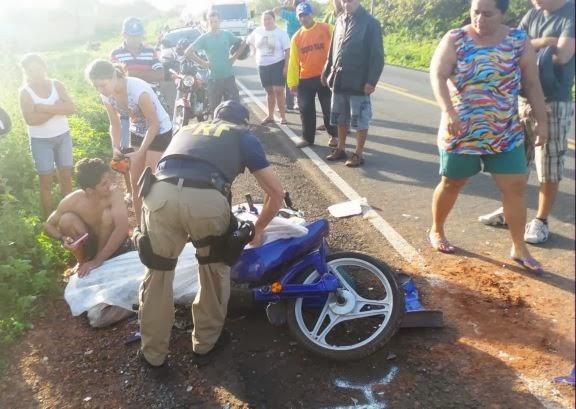 Idoso morre após colisão de carros na BR-402 em Parnaíba