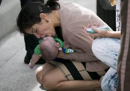 Tia que salvou bebê inconsciente passou pela mesma situação com o próprio filho