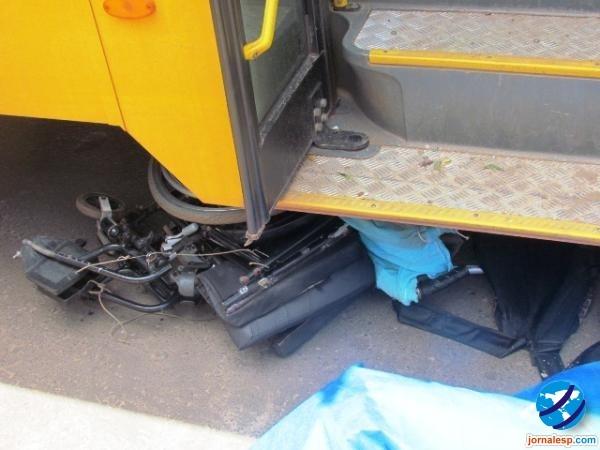 Cadeirante morre ap ser atropelado por ibus escolar na cidade de Barras
