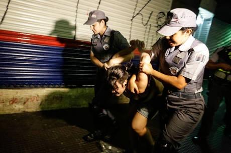 Protesto contra Copa do Mundo tem cerca de 230 pessoas detidas e oito feridas