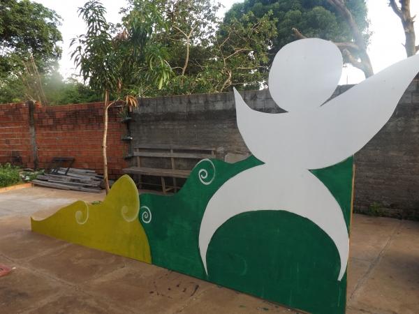 Ornamentação do Carnaval 2014 de Lagoa Alegre - Imagem 1