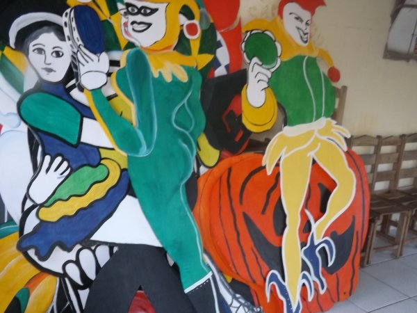 Ornamentação do Carnaval 2014 de Lagoa Alegre - Imagem 2