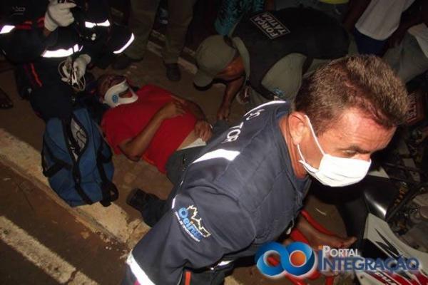 Acidente envolvendo Van escolar e moto deixa uma pessoa ferida em Oeiras - Imagem 1