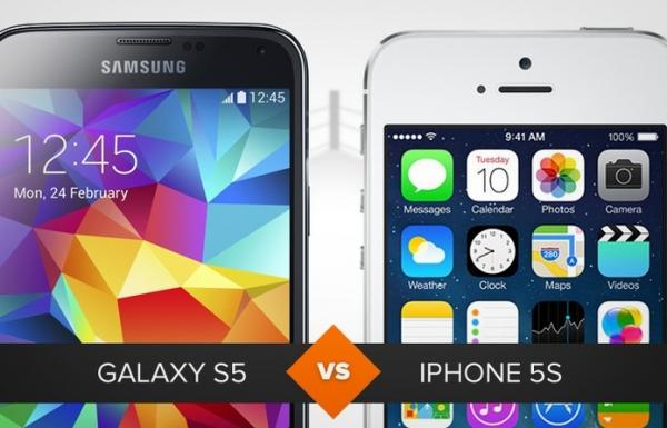Galaxy S5 ou iPhone 5S? Veja qual é o melhor entre os tops
