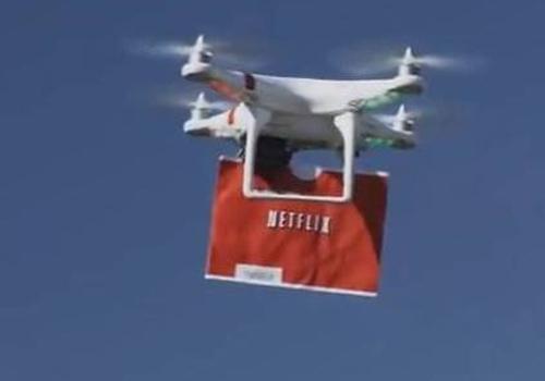 Vídeo da Netflix mostra piada com um novo serviço de entregas da Amazon