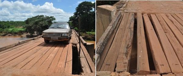 Padre pede que MP interdite a ponte sobre o Rio Canindé - Imagem 1