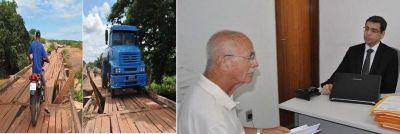 Padre pede que MP interdite a ponte sobre o Rio Canindé